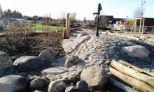 Wasserpumpe Natur-Generationen-Spielplatz Wittenförden