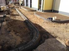 Außenarbeiten am Neubau Kita von gartenbau breuer Schwerin