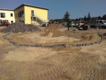 Außenarbeiten Spielplatz Kita in Grabow gartenbau breuer Schwerin